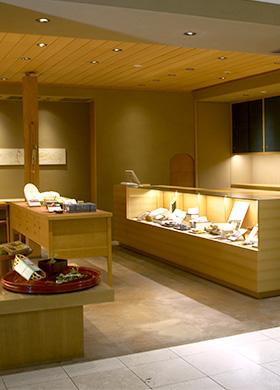 おもたせ(物販店)東京:玉川高島屋S・C店の店内