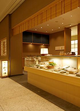おもたせ(物販店)名古屋:ミッドランドスクエア店の店内