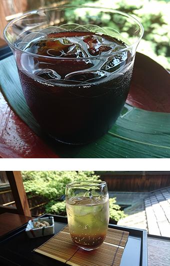 堺町店 茶菓席 夏季限定ドリンク