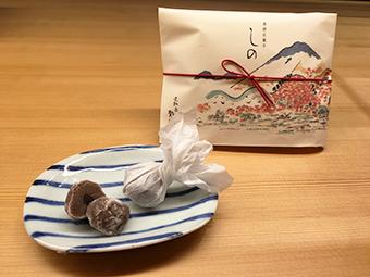 京都3店舗限定 季節包装商品 「しの」販売のお知らせ